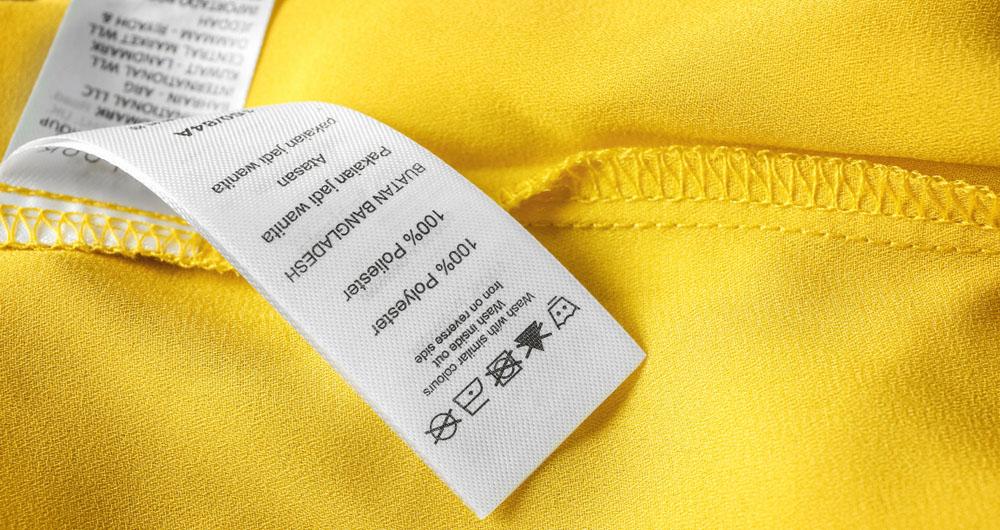Como fazer etiquetas de roupas