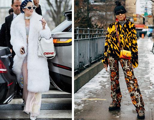 moda inverno 2020 - peles falsas