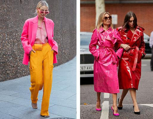 moda inverno 2020 - tons neon