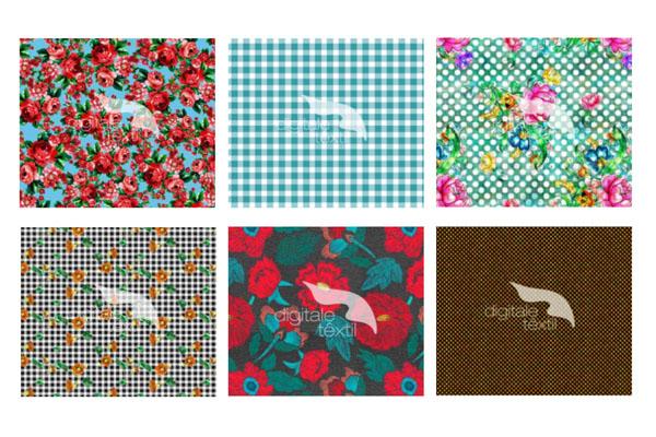 estampas vintage da digitale textil